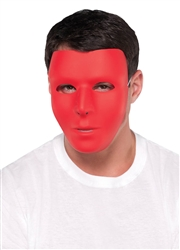 Red Basic Mask | Party Supplies