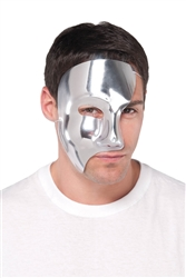 Silver Phantom Mask | Party Supplies