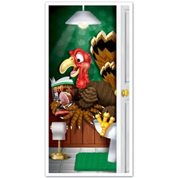 Turkey Restroom Door Cover