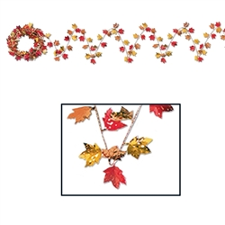 Gleam 'N Flex Autumn Leaf Garland