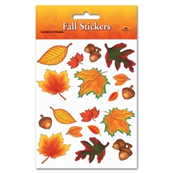 Fall Leaf Stickers