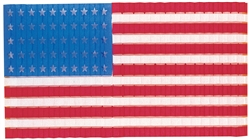 Patriotic Stars-N-Stripes Flag Door Drop | Party Supplies