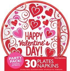 Party Impressions Valentine Fun Pack | Party Supplies