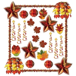 Fall Reflections Decorating Kit - 28 Pieces