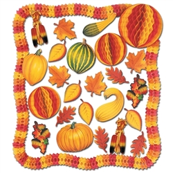 Fall Decorating Kit - 28 Pieces
