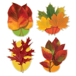 Autumn Leaf Cutouts