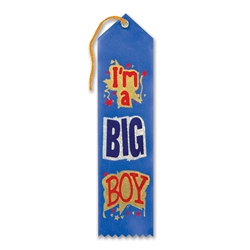 I'm a Big Boy Award Ribbon