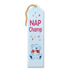 Nap Champ Award Ribbon
