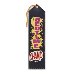Bedtime Champ Award Ribbon