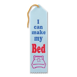 I Can Make My Bed Award Ribbon