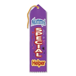 Mommy's Special Helper Award Ribbon