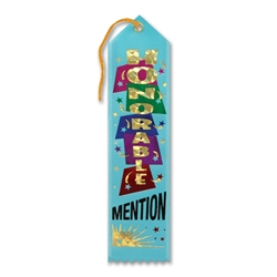 Honorable Mention Award Ribbon