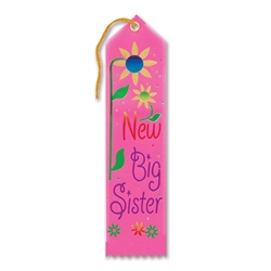 New Big Sister Award Ribbon