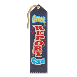 Great Report Card Award Ribbon
