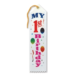 My 1st Birthday Award Ribbon