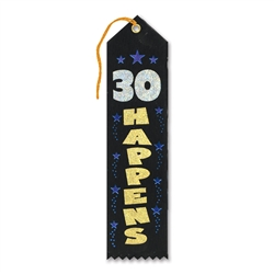 30 Happens Award Ribbon