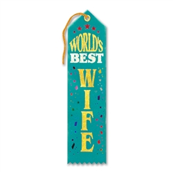 World's Best Wife Award Ribbon