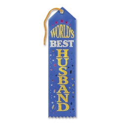 World's Best Husband Award Ribbon