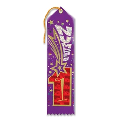 Number 1 Award Ribbon