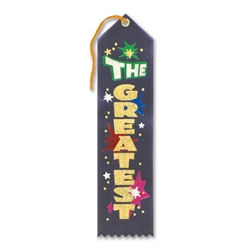 The Greatest Award Ribbon