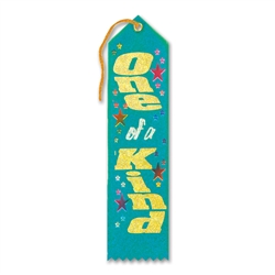 One of a Kind Award Ribbon