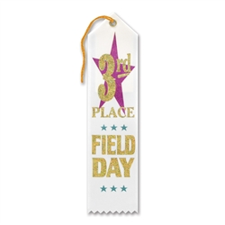 3rd Place Field Day Award Ribbon