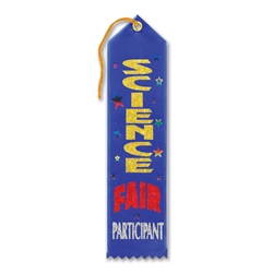 Science Fair Participant Award Ribbon