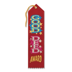 Good Deed Award Ribbon