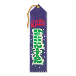 Special Recognition Award Ribbon