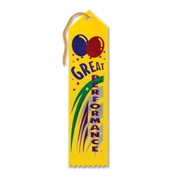 Great Performance Award Ribbon