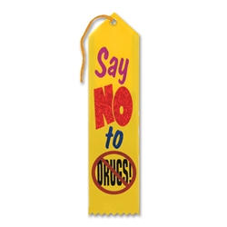 Say No to Drugs Award Ribbon