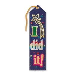 I Did It! Award Ribbon
