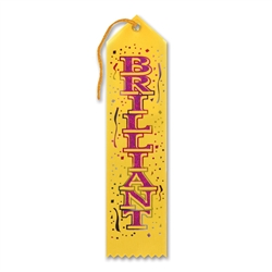 Brilliant Award Ribbon