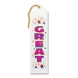 Great Award Ribbon