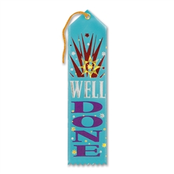 Well Done Award Ribbon