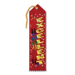 Excellent Award Ribbon