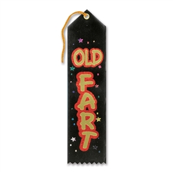 Old Fart Award Ribbon