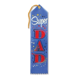 Super Dad Award Ribbon