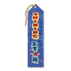 Shining Star Award Ribbon
