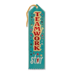 Teamwork Star Award Ribbon