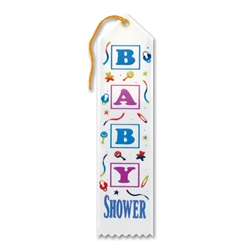 Baby Shower Award Ribbon