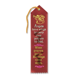 Angels Have Wings Inspirational Ribbon
