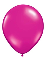 Magenta Latex Balloons for Sale