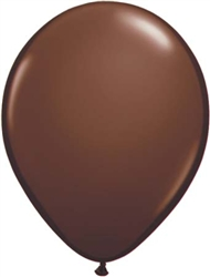 Chocolate Brown Latex Balloons