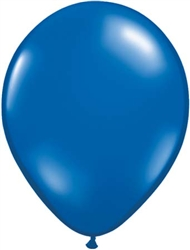 Sapphire Blue Latex Balloons for Sale