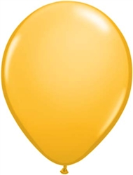 "5"" Fashion Goldenrod Latex Balloon - 100 Count"