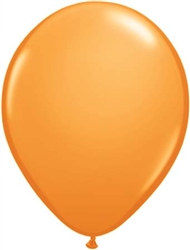Standard Orange Latex Balloons for Sale
