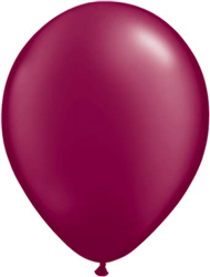 Burgundy Latex Balloons for Sale