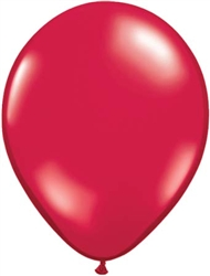 Ruby Red Latex Balloons for Sale