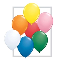 Assorted Latex Balloons for Sale